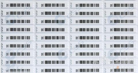 苏州万瑞特大量低价供应超市 商场 化妆品店dr声磁防盗软标高清图片