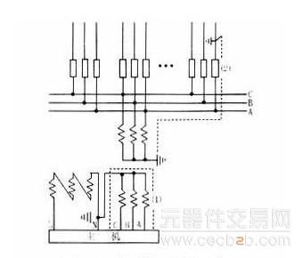 解说电压互感器接线方式图片