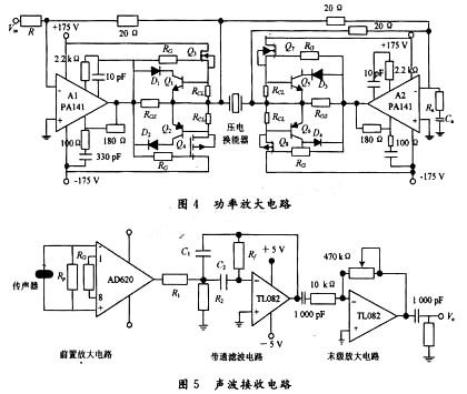 对于高压电源的设计,实验中采用推挽式稳压电源功率转换电路,具体电路