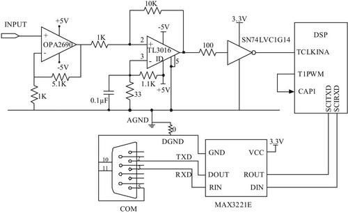 图4 硬件电路连接图