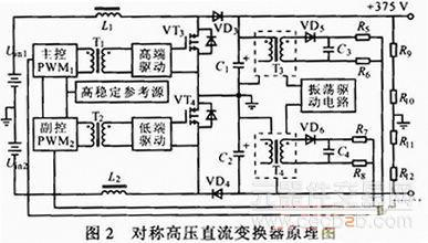 对称高压变换器电路原理