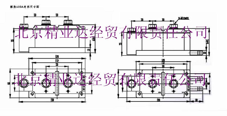 ip普通整流管 ix 旋转整流管),可控硅模块,整流管模块,三相整流桥