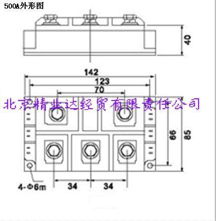 [供应]三相全控整流桥模块 mts500a1600v 国产
