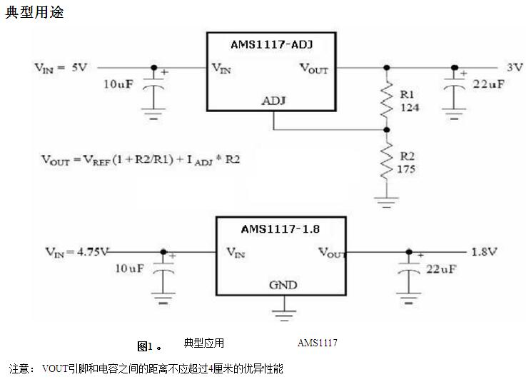 集成电路ic  ams1117-3.3v