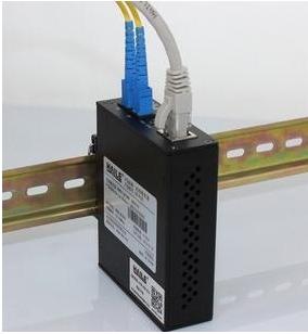 导轨安装光纤交换机 (光纤转换器)