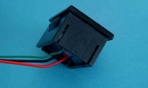 [供应]0-100v电动车汽车电瓶电量指示移动电源数显电压表 bt3603r-bl