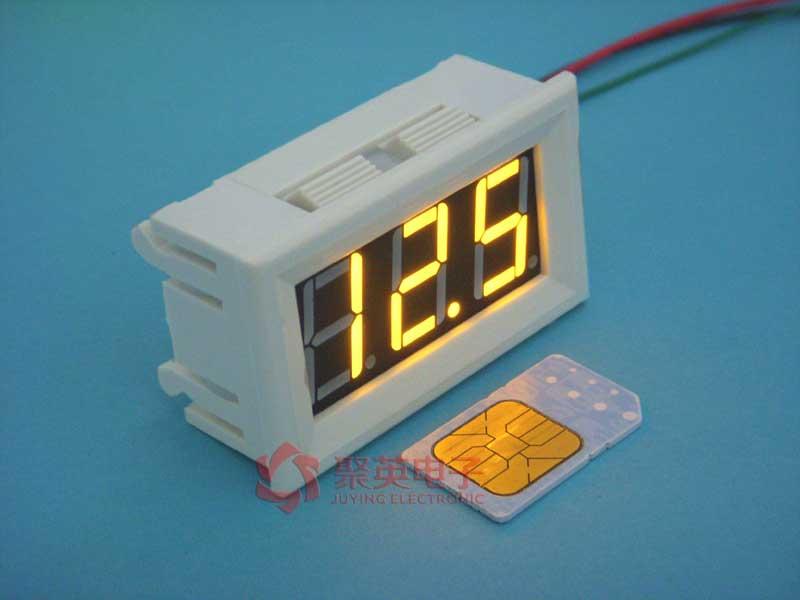 56三线0-100v 数显电压表 数字电压表 数显 数字 bt5603r100vbl 聚英
