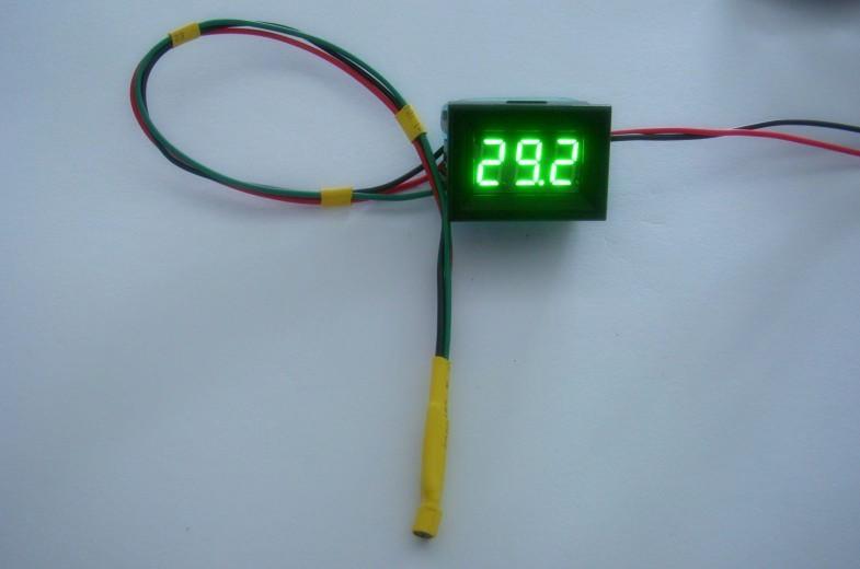 56超薄数显温度表,数字温度表(高精度带壳) 聚英电子