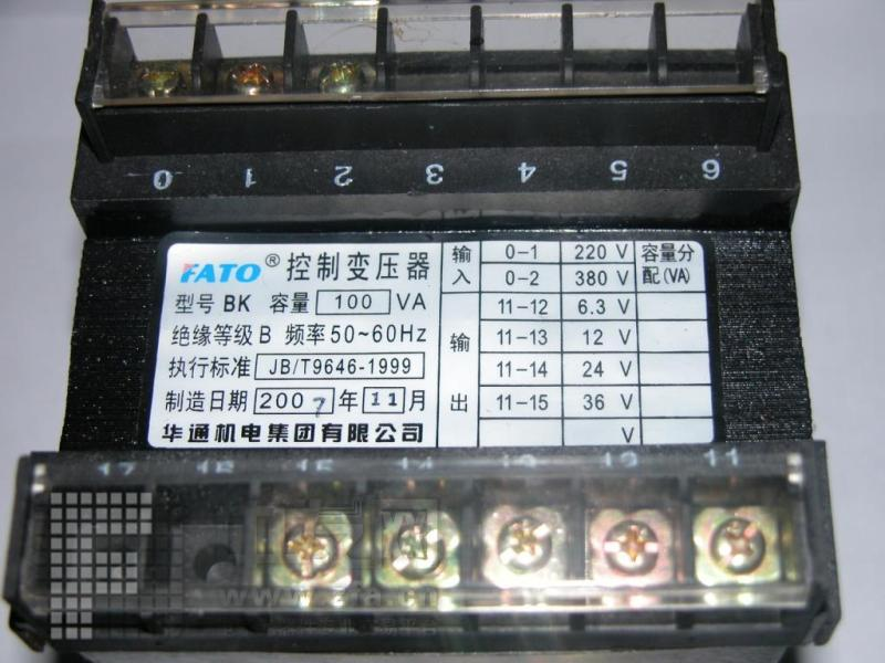供应控制变压器100w-控制变压器100w价格-北京春江水